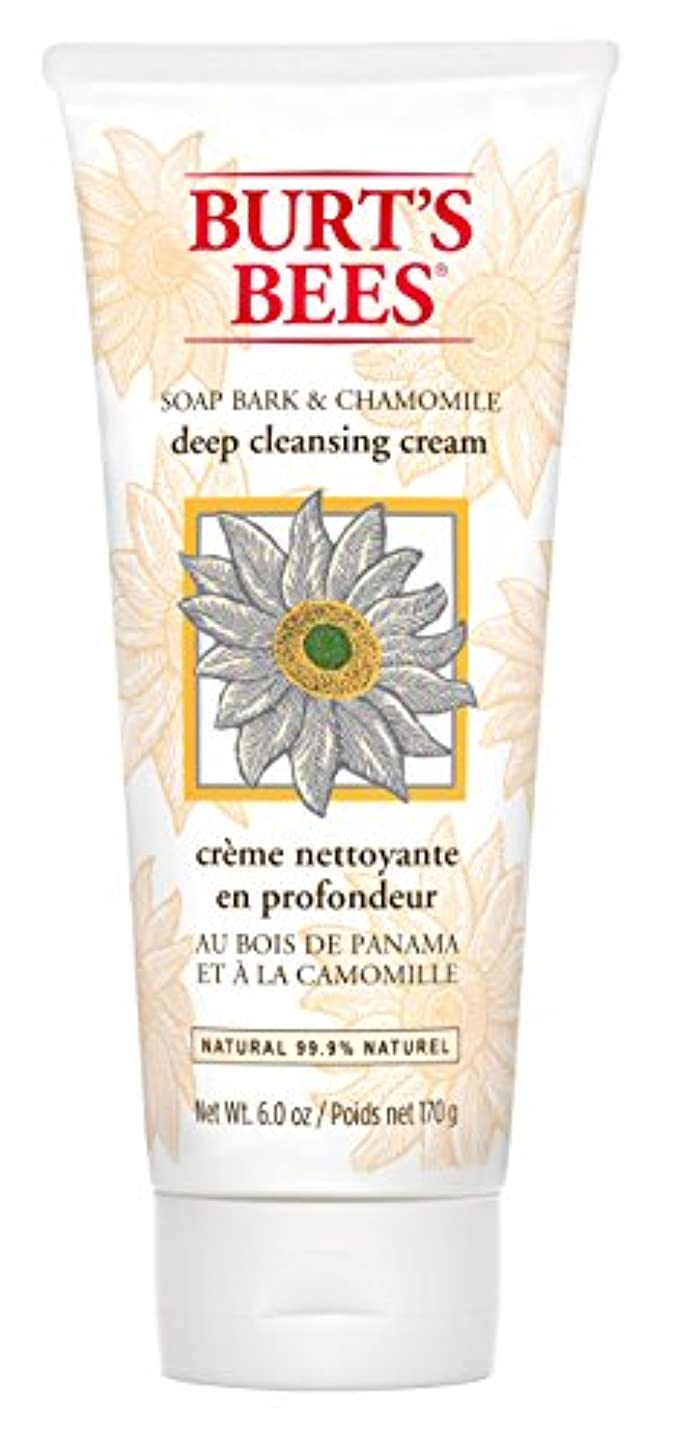 ロマンス不安ボトルネックBurt's Bees Soap Bark and Chamomile Deep Cleansing Creme