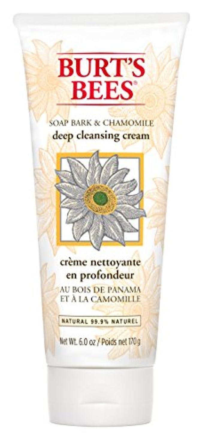 出会い唇セッションBurt's Bees Soap Bark and Chamomile Deep Cleansing Creme