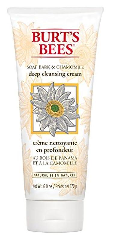 カレッジペチュランスロケーションBurt's Bees Soap Bark and Chamomile Deep Cleansing Creme