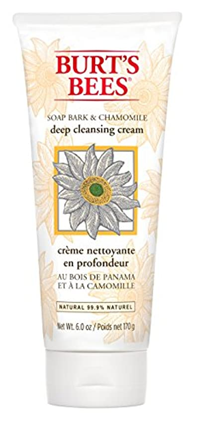 旧正月統計的なめるBurt's Bees Soap Bark and Chamomile Deep Cleansing Creme