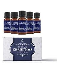 Mystic Moments | Fragrant Oil Starter Pack - Christmas Oils - 5 x 10ml