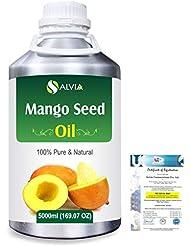 Mango Seed (Mangifera indica)100% Natural Pure Carrier Oil 5000ml/169 fl.oz.