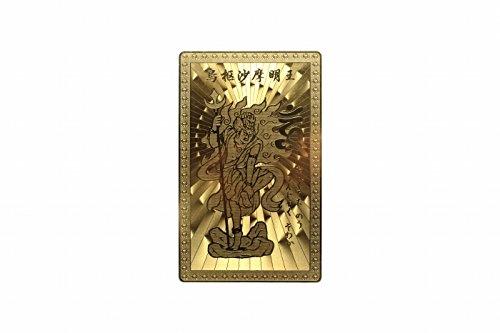 《トイレの神様》烏枢沙摩明王(ウスサマミョウオウ) カード ・臨時収入・金運・願望成就 (Sサイズ・カードサイズ) 【うすさま明王AMERI】