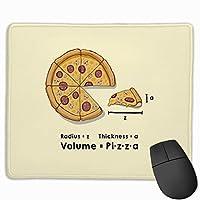 ピザフォーミュラ マウスパッド 25×30 大判 ノンスリップ 防水 ゲーミング おしゃれ マウスの精密度を上がる