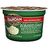 Idahoan Mashed Potatoes Cup, Roasted Garlic, 1.5 Ounce (Pack of 10)