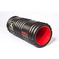 The GRID 'X' Foam Roller グリッドフォームローラーX ブラック/レッド [並行輸入品]