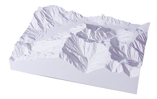 青島文化教材社 スカイネット 1/50000スケール 精密山岳模型 やまなみ 北アルプスシリーズ No.01上高地 霞沢岳 プラスチック完成品