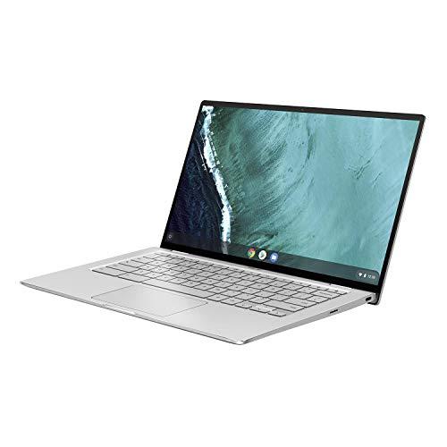 『ASUS ノートパソコン Chromebook Flip C434TA 14.0型フルHD液晶 タッチ機能あり 日本語キーボード Core m3-8100Y 4GB eMMC 32GB 約10時間駆動 【日本正規代理店品】 C434TA-AI0095 シルバー』のトップ画像