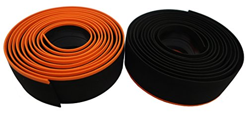 プロ(PRO) バーテープスポーツコントロール ブラック/オレンジ 厚さ:2.5mm R20RTA0033X