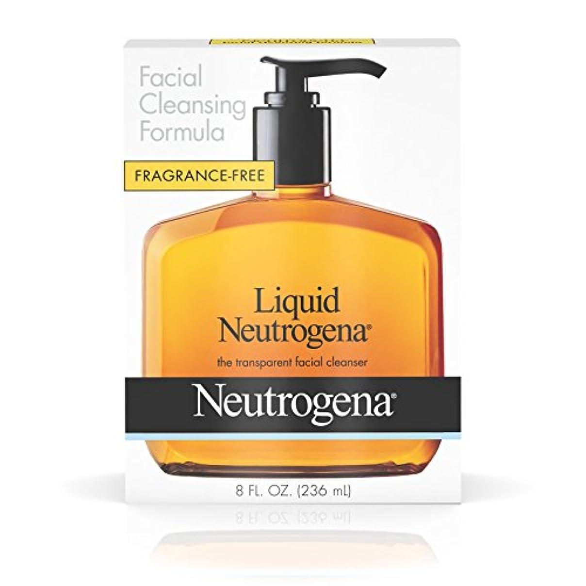 ボーダータイトルでNeutrogena 液体洗顔式、8フロリダ。オンス
