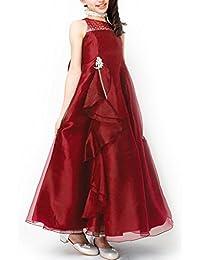 563a46003947f Amazon.co.jp  レッド - フォーマル   ガールズ  服&ファッション小物