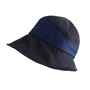 コモライフ るるぶ さわやか楽ちん帽子 ベルオアシス 折りたたみ つば広 UV 紫外線 すっぴん隠し 旅行 日よけ メッシュ 頭囲:約57~59cm