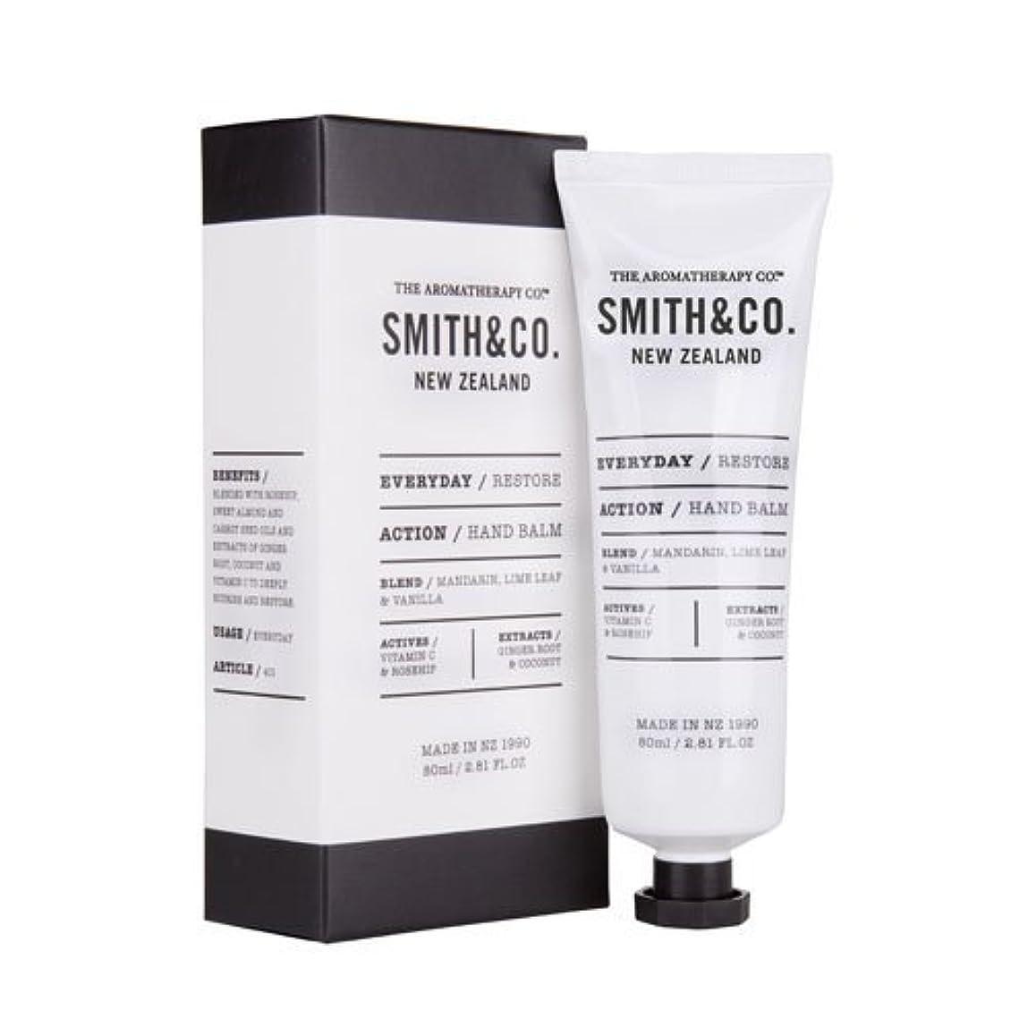 サポート革命的定期的Smith&Co. スミスアンドコー Hand Cream ハンドクリーム Restore リストア