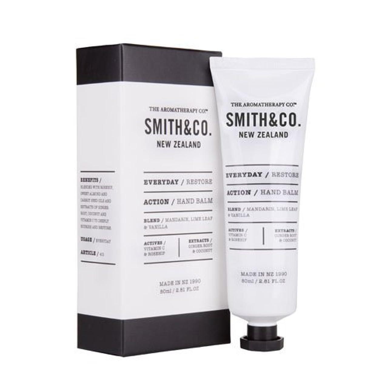 種起訴する隔離Smith&Co. スミスアンドコー Hand Cream ハンドクリーム Restore リストア