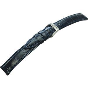 [モレラート]Morellato VOLTERRA ボルテラ 時計ベルト 16mm ダークブルー アリゲーター時計ベルト U0856 056 062 016