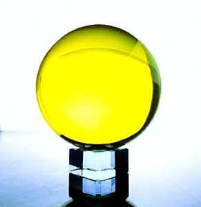 カラーボール (Lemon Yellow) (60mm)