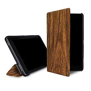 【Fire HD 10 (第7世代)用カバー】caseable by Wood