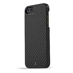 【日本正規代理店品】TUNEWEAR CarbonLOOK for iPhone 5s/5 ブラック TUN-PH-000167