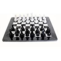 RADICALn ハンドメイドチェスセット 白黒 大理石