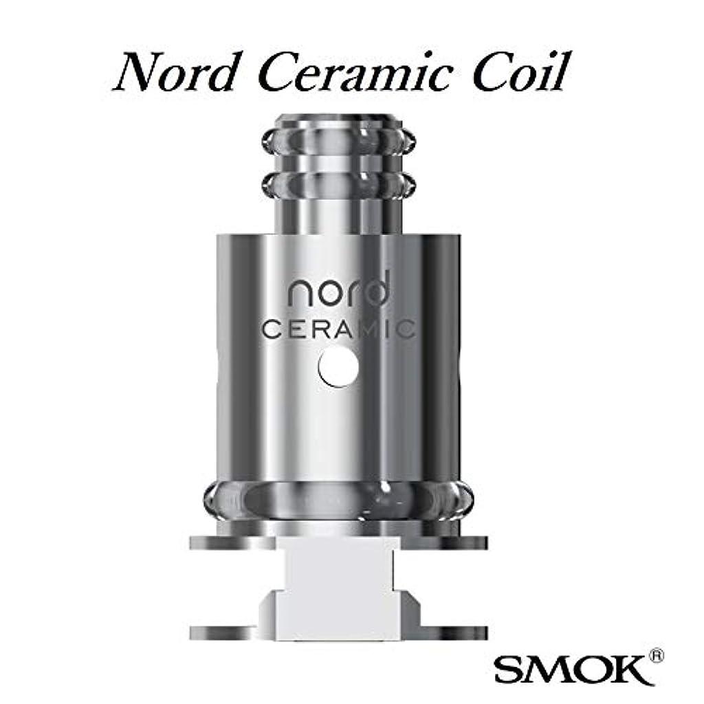 登る盆地ハンディSMOK Nord Ceramic Coil 1.4ohm 5pcs pack ノードセラミックコイル5個入り