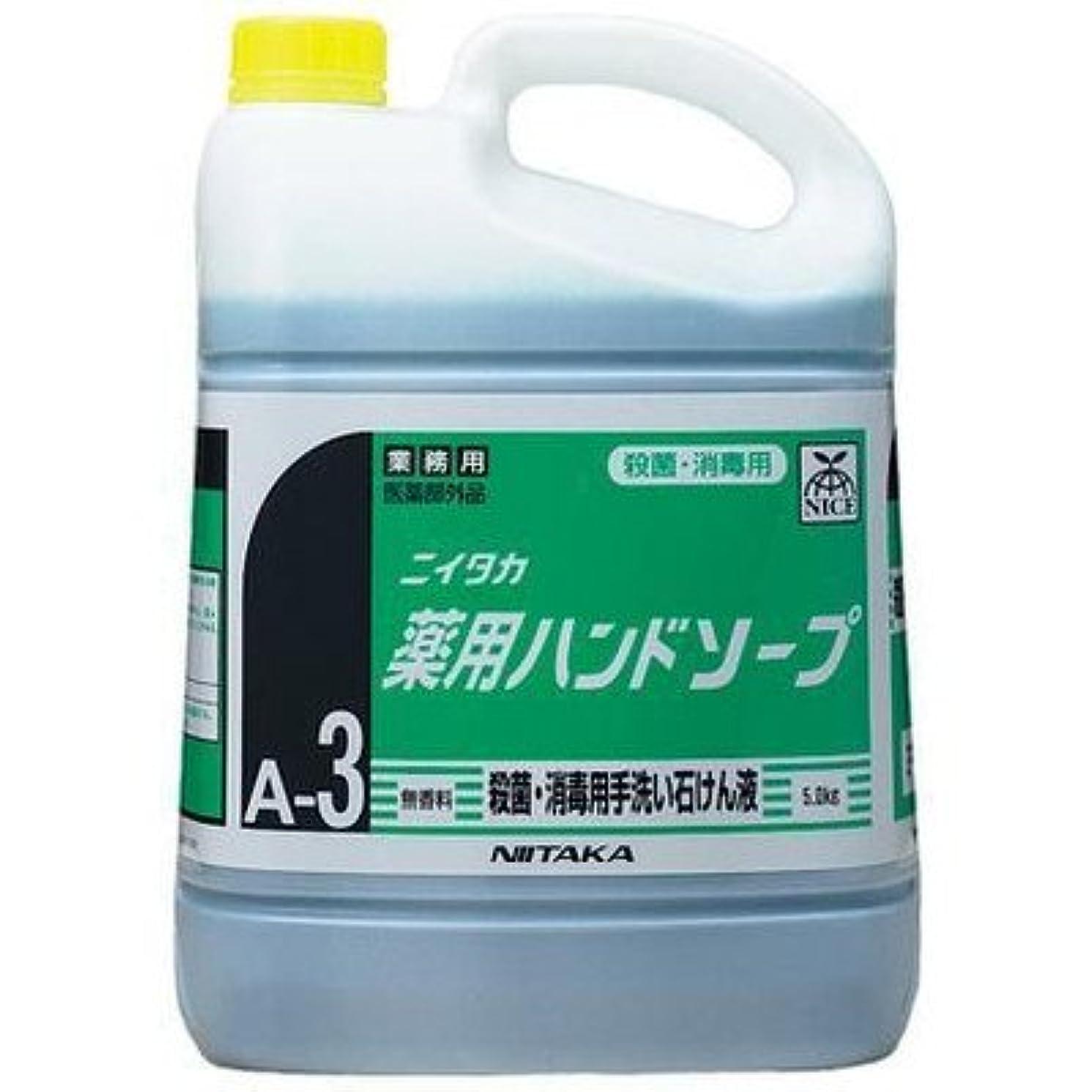 相対的意志に反するガラスニイタカ 業務用手洗い石けん液 薬用ハンドソープ(A-3) 5kg×3本