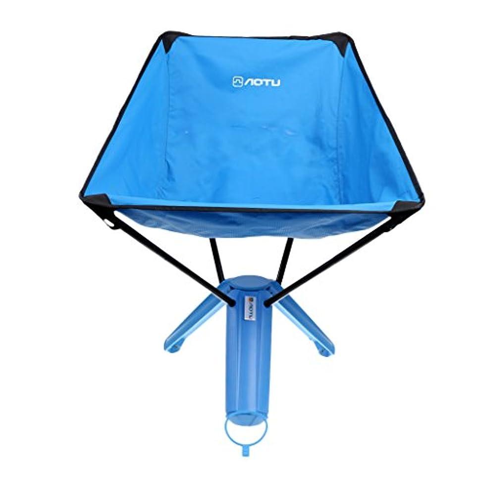下に向けます四半期タフToygogo 折りたたみ式 椅子 チェア キャンプ 釣り 狩猟 ピクニック 芝生 ビーチ コンパクト 多機能