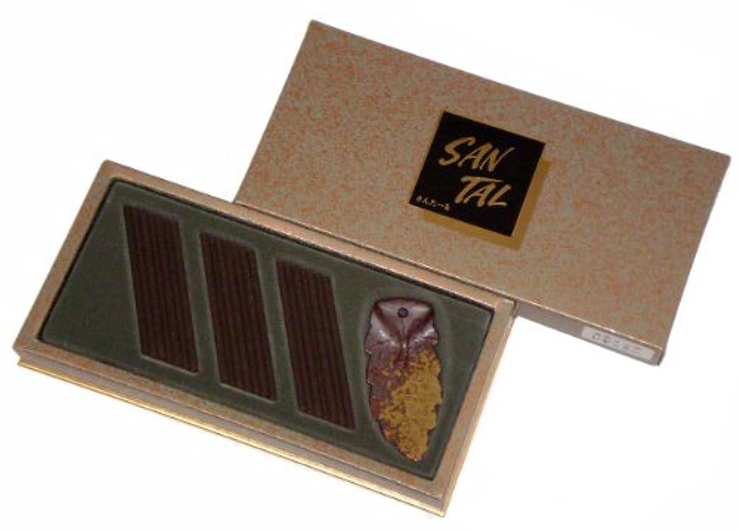 ステップ一般的に言えば圧縮玉初堂のお香 サンタール スティックレギュラーセット #5212
