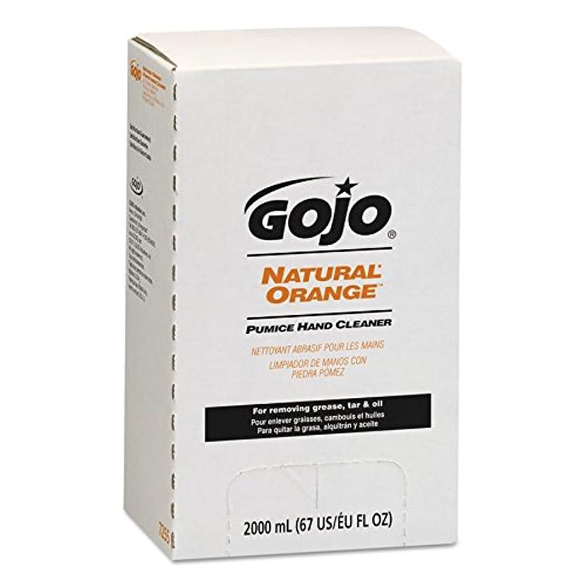 トランジスタトレーニング状態NATURAL ORANGE Pumice Hand Cleaner Refill, Citrus Scent, 2000 mL, 4/Carton (並行輸入品)