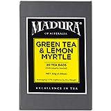 Madura Green and Australian Lemon Myrtle 20 Enveloped Tea Bags, 1 x 30 g
