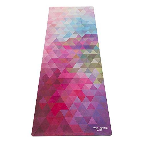 Yoga Design Lab (ヨガデザインラボ)コンボマット 厚さ3.5mmのヨガマット ストラップ付き (Tribeca Sand)