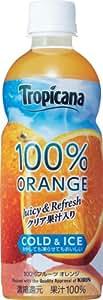 キリン トロピカーナ100%フルーツ オレンジ 400ml×24本