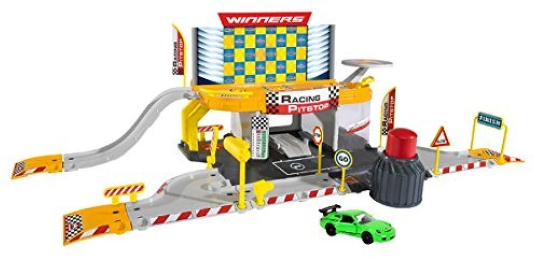 Dickie Toys Majorette Racing Pitstop [並行輸入品]