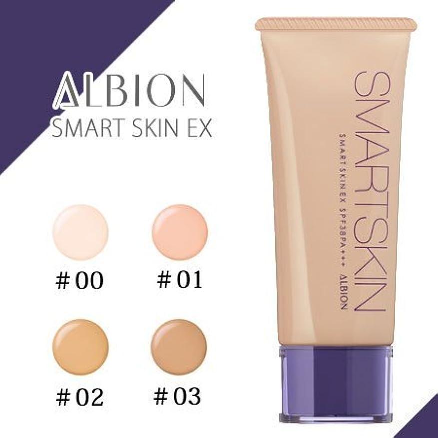 の中でブル絶縁するアルビオン スマートスキン EX 40g -ALBION- #00