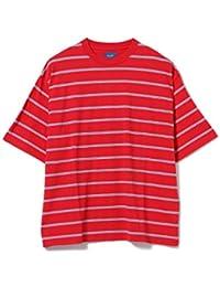(ビームス)BEAMS/半袖カットソー/ボーダー ビッグ Tシャツ メンズ