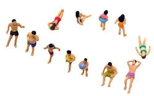 トミーテック ジオコレ 情景コレクション ザ・人間118 海水浴の人々 ジオラマ用品