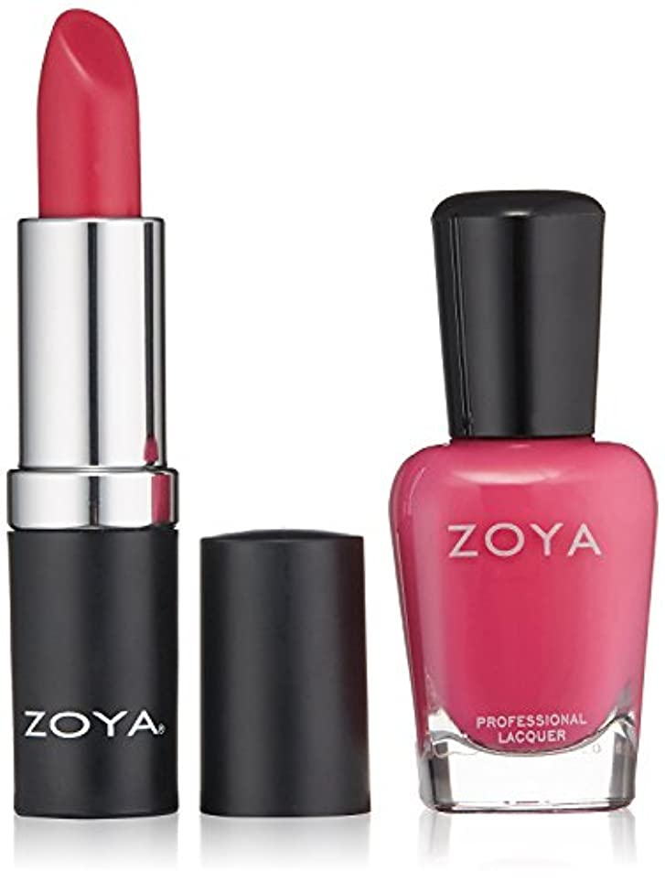 帳面習慣下線ZOYA Nail Polish Xo Lips & Tips Duo 1 fl. oz. [並行輸入品]