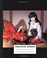 Notebook: Japan Anime Inuyasha Soft Glossy Cover Graph Paper Pages Book 7.5 x 9.25 Inches 110 Pages