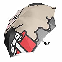 ngjainxfac折り畳み傘防風頑丈、ポータブル37.4インチx 11.42インチ