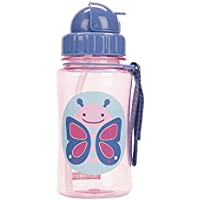 Skip Hop Forget Me Not Kid Straw Bottle, Butterfly