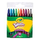 Crayola 52 – 9715 10 CT Twistableクレヨン