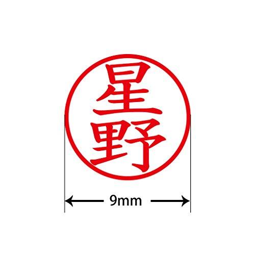 プラス 印鑑 ネームキューブ ピンク 星野 楷書体 60-986 IS-009NQ