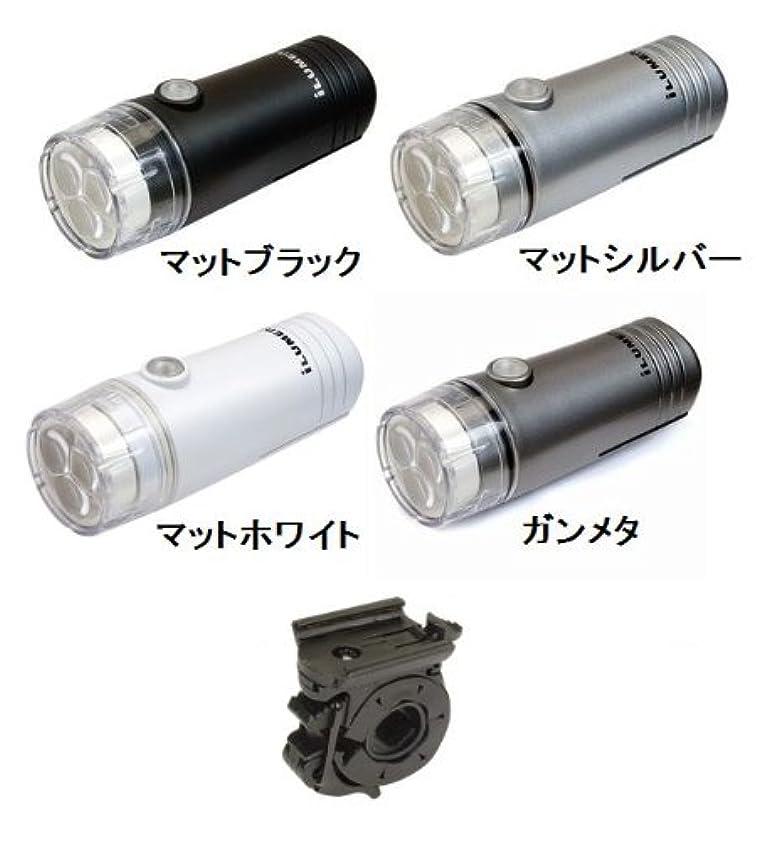 生態学田舎焦げGIZA PRODUCTS SS-L 122W (LEDライト) ギザ プロダクツ ヘッドライト マットブラック(LPF09700)