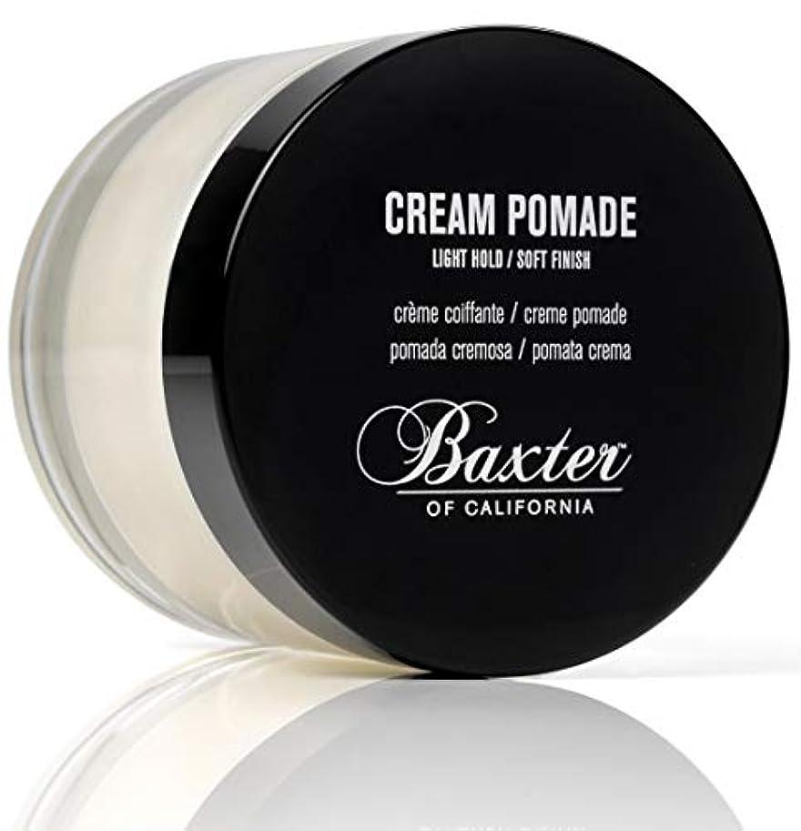 しおれたセミナー満足できるBaxter OF CALIFORNIA(バクスター オブ カリフォルニア) クリームポマード 60g