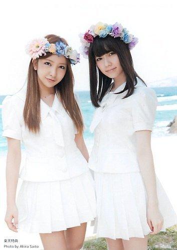 AKB48 公式生写真 さよならクロール 店舗特典 楽天ブックス 【板野友美&島崎遥香】