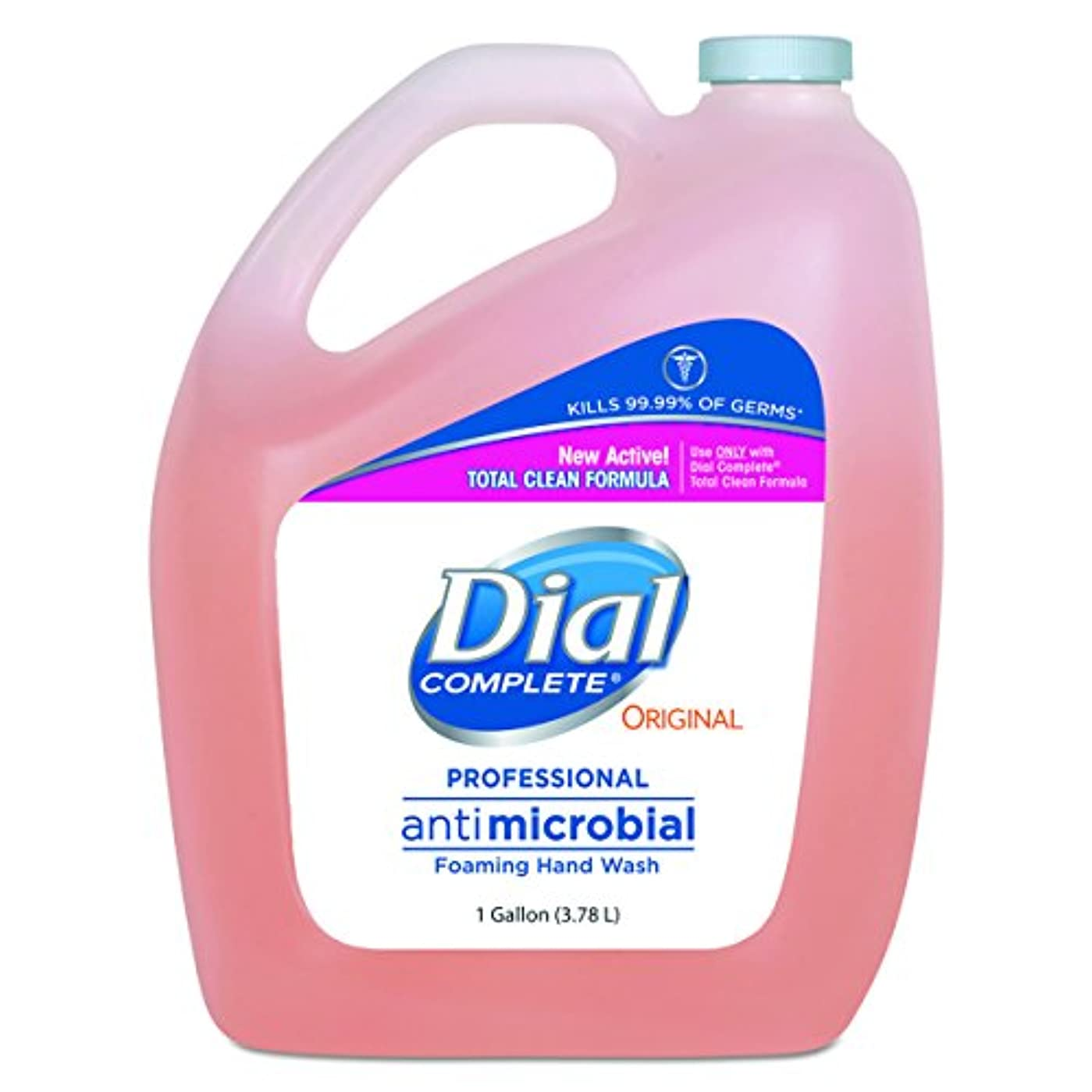 コンデンサー成果どこダイヤルProfessional抗菌Foaming Hand Soap、元香り, 1 gal。、4 /カートン