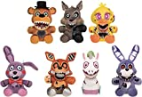 Funko Five Nights at Freddy 's Twisted Ones コレクション用ぬいぐるみ 8インチ 7個セット