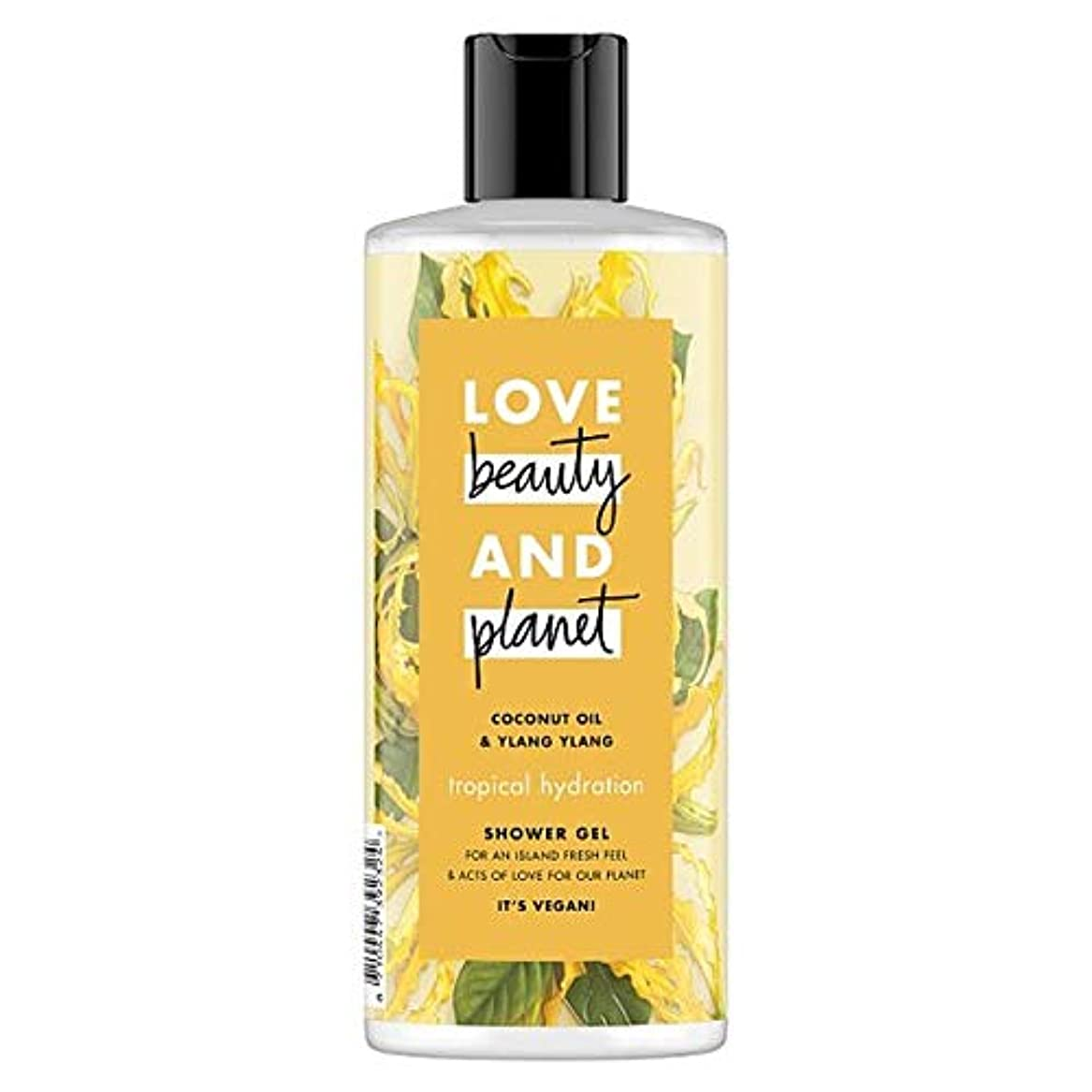 船尾退屈な素子[Dove ] 美しさと惑星イランのシャワージェル500ミリリットルを愛します - Love Beauty And Planet Ylang Shower Gel 500Ml [並行輸入品]