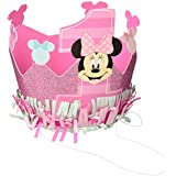 1st Birthday Minnie Mouse Crown Hat Party Supplies Minnie Fun to be One