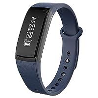 スマートブレスレット 心拍計 活動量計 血圧計 血圧測定 多機能 おしゃれ スマートウォッチ 0.86 ip67完全防水 対応 iPhone/iOS/Android