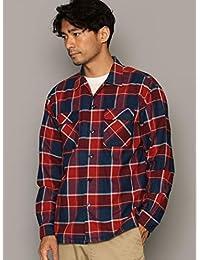 ユナイテッドアローズ グリーンレーベル リラクシング ワイシャツ SC INDIGO/NEL パッチレギュラー シャツ 32116992456 メンズ